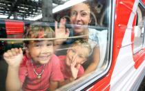 Многодетным семьям предоставляется скидка 20% на проезд в поездах дальнего следования