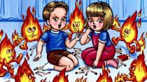 Пожарная безопасность детей во время летних каникул!