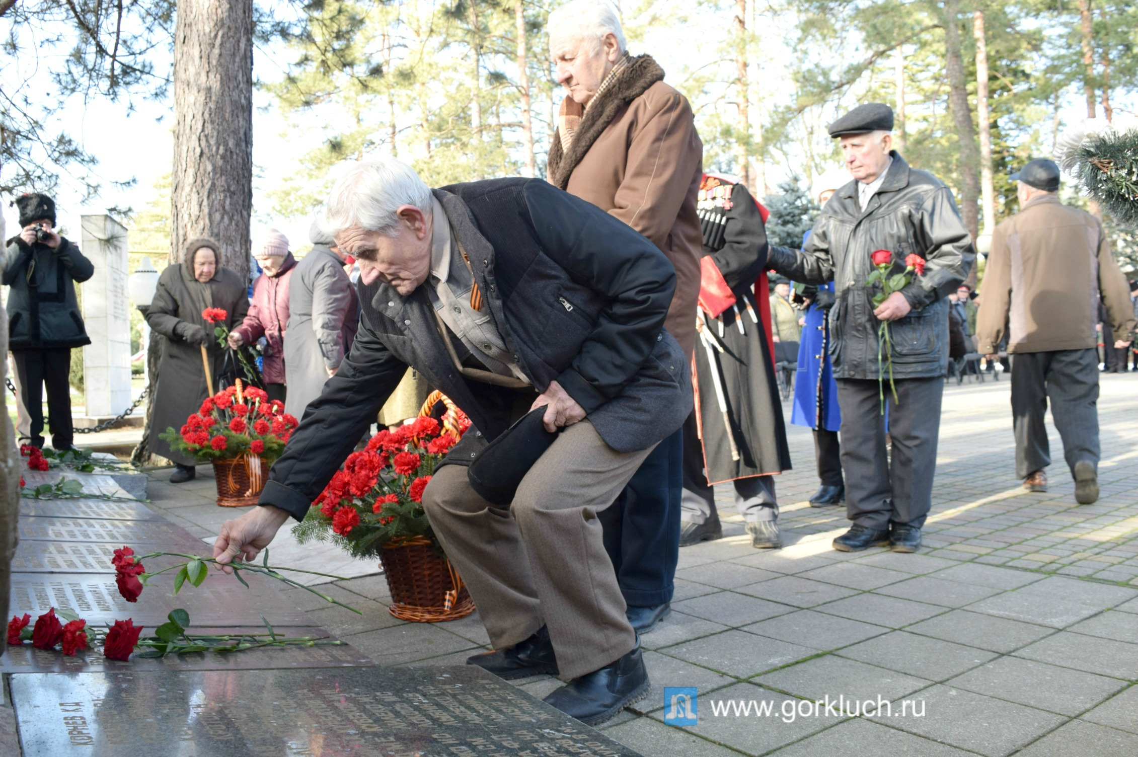 Месячник патриотизма стартовал сегодня в Горячем Ключе